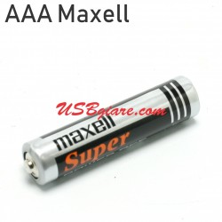 Pin 3A Maxell AAA 1.5V UM4 R03(AB) Super