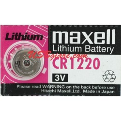 Pin CR1220 Maxell 3V Lithium Battery