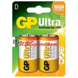 Pin đại LR20 Size D GP Ultra Alkaline Battery
