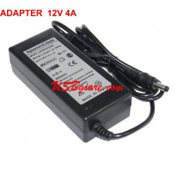 ADAPTER 12V 4A CHO LCD LED CAMERA ĐẦU 5.5MM