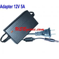 ADAPTER 12V 5A ĐẦU 5.5MM CHO LED LCD CAMERA
