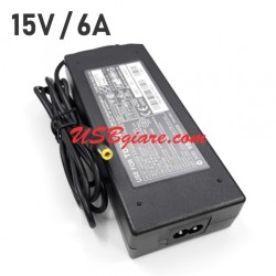 Adapter 15V 6A 90W đầu DC 5.5x2.5mm Toshiba