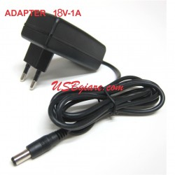 ADAPTER 18V 1A ĐẦU 5.5MM