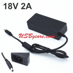 Adapter 18V 2A (5.5x2.5mm) JC1802