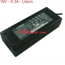 ADAPTER LITEON 19V 6.3A ORIGINAL
