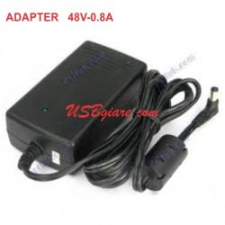 ADAPTER 48V 0.8A JACK 5.5MM - SWITCHING ADAPTER DC