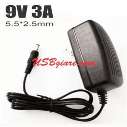 Adapter 9V 3A đầu 5.5x2.5mm US Plug DSA-0930