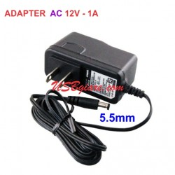 Adapter 12V 1A AC/AC đầu 5.5x2.5mm
