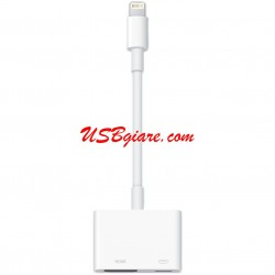 CÁP LIGHTNING - IPHONE 5, IPAD 4, IPAD MINI TO HDMI CHÍNH HÃNG APPLE