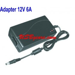 ADAPTER 12V 6A ĐẦU 5.5MM CHO LED LCD CAMERA