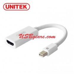 Cáp Mini Displayport (Thunderbolt) to HDMI (4K Ultra HD) Unitek Y-6331