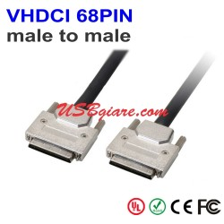 Cáp SCSI VHDCI 68PIN Male to Male 1M