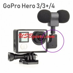 Đầu chuyển Mini USB to 3.5mm GOPRO Microphone adapter 90 degree