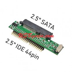 Card chuyển 2.5 inch SATA sang IDE 44pin interface adapter card