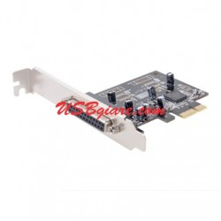 Card PCI-Express sang DB25 Parallel LPT Dtech PC-0084