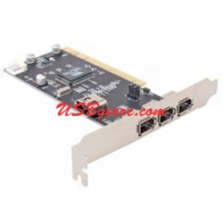 Card PCI to 1394 (4*6 Pin 1394A) Dtech PC007B