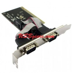 Card PCI sang DB9 / COM 9 - PC PCI to 2x RS232 eZhou