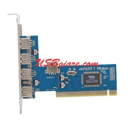 Card PCI ra 4 cổng USB 2.0 Dtech PC0016C