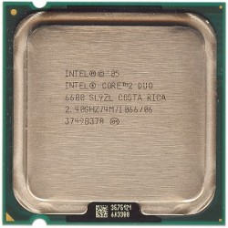 CPU E 6600 Core 2 Duo 2.4G