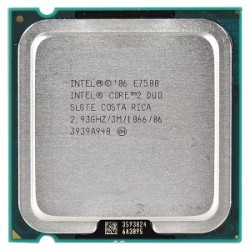 CPU E 7500 Core 2 Duo 2.8G