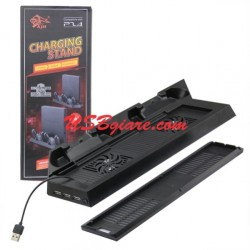 Giá đỡ tản nhiệt cho PS4 SLIM 2 in 1 Charging Stand with Cooling fan (PS4 /PS4 SLIM)