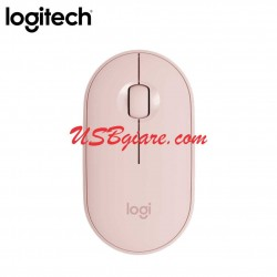 Chuột bluetooth + wireless 2 in 1 M350 Pebble Logitech (HỒNG)