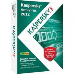 Kaspersky  anti virus 3pc - 1 năm - Box