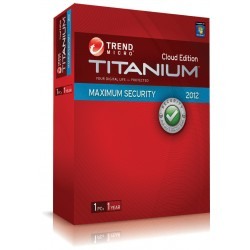 Trend micro Titanium internet security 1PC/12T 2012 - Box