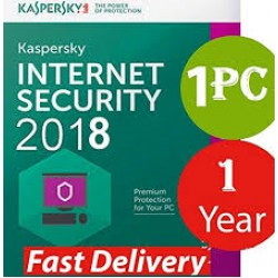 Kaspersky Internet Security 2018 1PC 1Year (KEY)