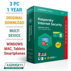 Kaspersky Internet Security 2018 3PC 1Year (KEY)