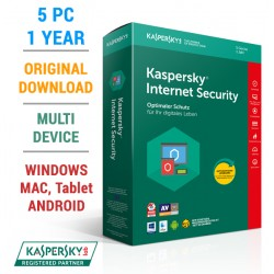 Kaspersky Internet Security 2018 5PC 1Year (KEY)