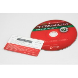 Trend micro Titanium internet security 1PC/12T 2012 - tray