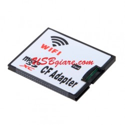 Adapter thẻ nhớ Micro SD / TF sang CF wifi