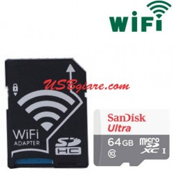 Adapter thẻ nhớ Micro SD / TF sang SD wifi