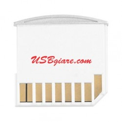 Adapter thẻ nhớ Micro SD cho Macbook Pro Air Retina (white)