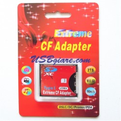 Adapter thẻ nhớ SD sang CF - Type I thin card CF to SD adapter