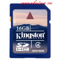 Thẻ nhớ SD Kingston - 16gb
