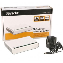 Switch TENDA 8 port 100Mbps