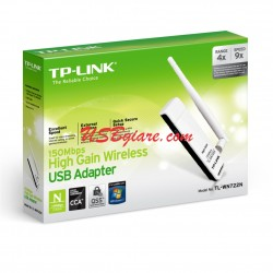 USB THU WIFI TP-LINK - 150MBPS HIGH GAIN WIRELESS N USB ADAPTER - TL-WN722N