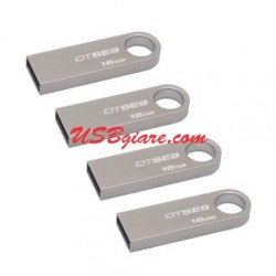 USB 16Gb Kingston 2.0 DTSE9 (móc khóa)