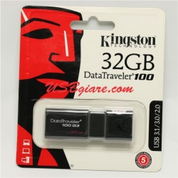 USB 3.0 32GB Kingston DT100G3 DataTraveler