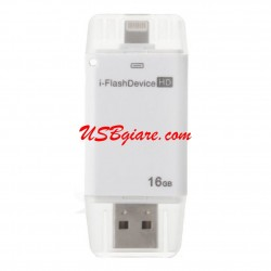 USB OTG 16G đầu Lightning cho iPhone 5/6 iPad 4/Air/Mini