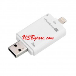 USB OTG 8Gb đầu Lightning cho iPhone 5 iPhone 6 iPad 4 iPad Air iPad Mini