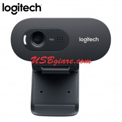 Webcam Logitech C270i - HD webcam USB smart TV IPTV chat video
